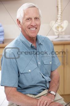 Portrait of male osteopath