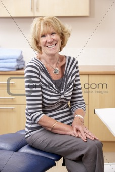 Portrait of chirpodist in clinic