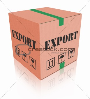 export shipping carboard box package