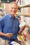 Male customer buying herbal tea