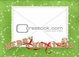 Christmas Cookie frame