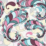 Splashy seamless pattern
