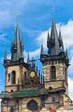 The Church of Our Lady before Tyn (Prague, Czech Republic)