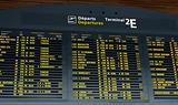 Departure board