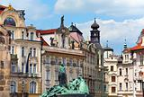 Jan Hus Memorial, Prague, Czech Republic