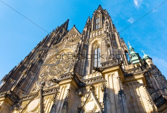 St. Vitus Cathedral , Prague, Czech Republic
