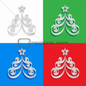 Abstract of paper Christmas trees
