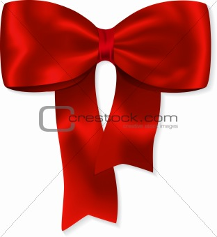 Nice red bow