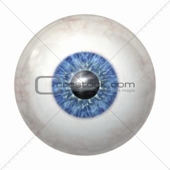 eye ball blue