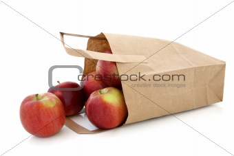 Apples in a Brown Paper Bag