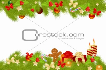 Christmas card background.