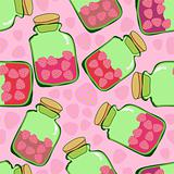 strawberry jam pattern