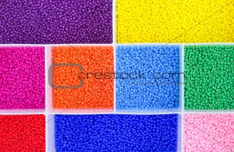 Colorful toy beads