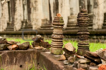 Ruins of the temples, Angkor Wat