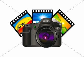 3D vector camera