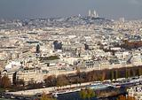 Montmartre Area From Far, Paris
