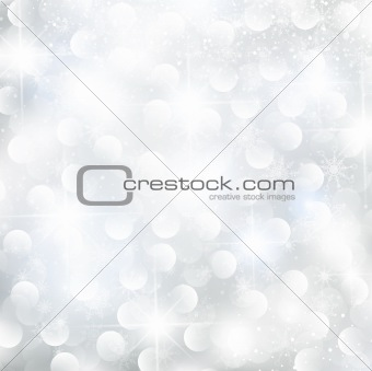 abstract glowing Christmas background