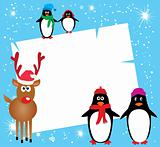 Card With Rudolf