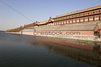 Forbidden City Over Water