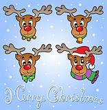 Christmas theme greeting card 6