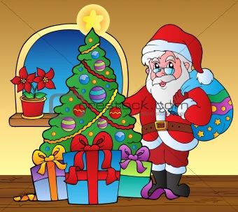 Santa Claus indoor scene 5