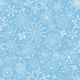 Blue pastel Christmas pattern