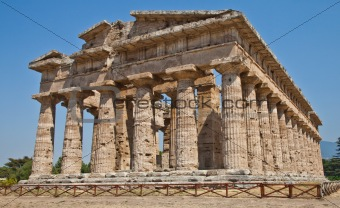 Paestum temple - Italy