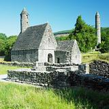 St. Kevins Monastery, Glendalough, County Wicklow, Ireland