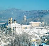 Rozmberk nad Vltavou castle, Czech Republic