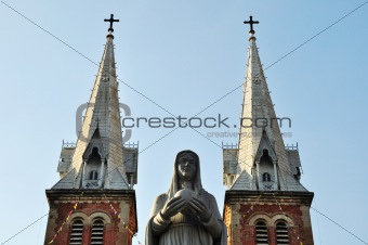 St Mary / Notre Dame Cathedral,Saigon,Vietnam