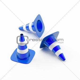 Cone pins
