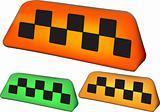 set of taxi symbol