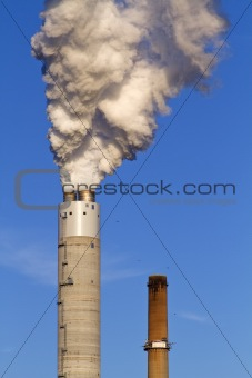 Power Plant Smokestack