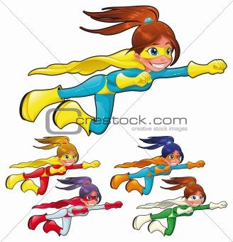 Young superheroes