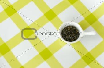 Portion of caviar