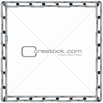 Chain link border