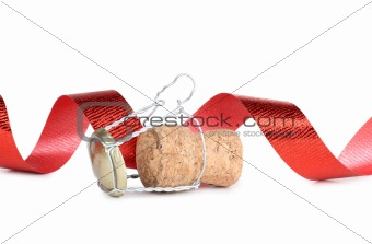 Cork of ribbon