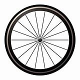 Bike road wheel