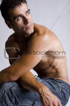 attractive sexy man