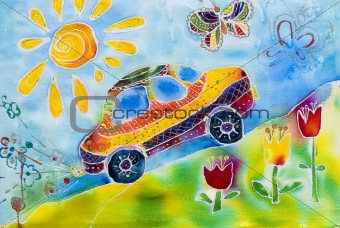 Pre-school children's creativity car