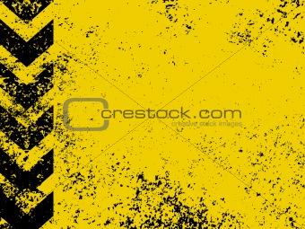 A grungy and worn hazard stripes 20111116-5(111).jpg