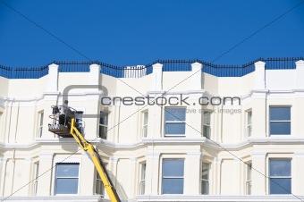 Cleaning sash windows