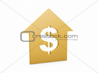 dollar house symbol