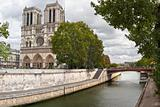 Notre Dame and Seine River