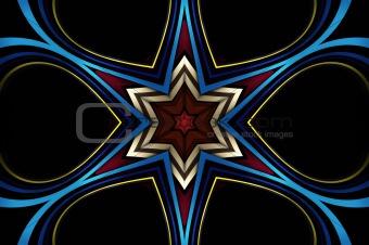 abstract kaleidoscope