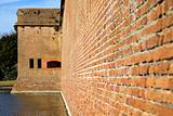 Walls of Fort Pulaski
