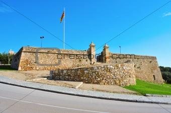 Forti de Sant Jordi in Tarragona, Spain