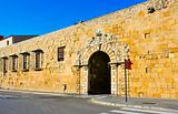 Portal de Sant Antoni in the Wall of Tarragona, Spain