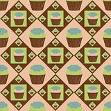 colorful cakes pattern