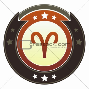Aries zodiac icon